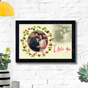 I love you Personalized Wall Frame
