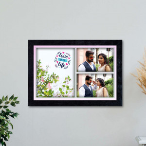 Love of my Life Personalized Frame