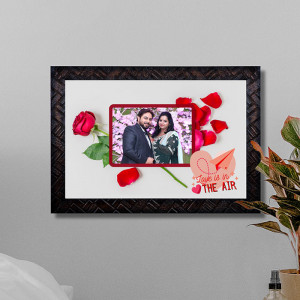 Love is in the Air Personalized Frame