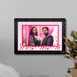 Personalized Sweet Couple Wooden Frame
