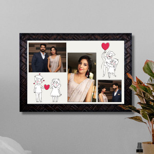 Sweet Memories Personalized Couple Frame