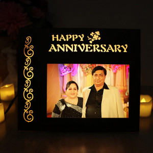 Personalized Anniversary Wishes Lamp