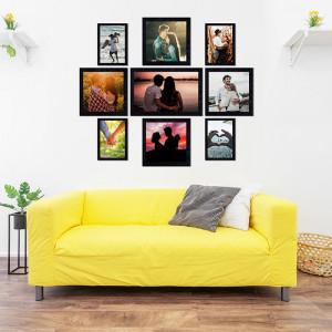 Loving Couple Wall Frame Set of Nine