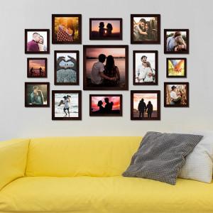 Fifteen Pc Designer Wall Frame