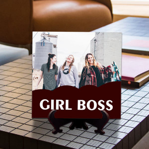 Personalized Girl Boss Tile