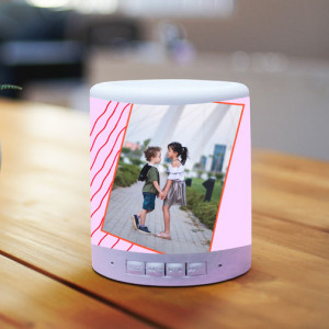 Personalized Happy Rakhi Bro BT Lamp Speaker