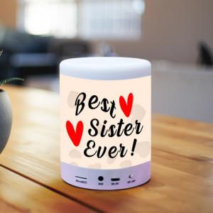 Personalized Best Sister Ever BT Lamp Speaker