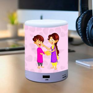 Personalized Bhai Teri Yaari BT Lamp Speaker