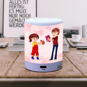 Happy Rakhi Mere Bhai Personalized BT Lamp Speaker