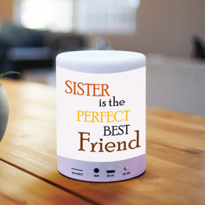 Sister is Perfect Friend Personalized BT Speaker
