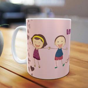 Personalized Love You Bhai Mug