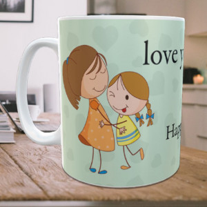 Love You Bhabhi Personalized Mug