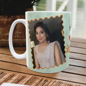 Happy Rakhi Meri Behna Personalized Mug