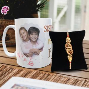 Sister is Perfect Best Friend Mug Rakhi Combo