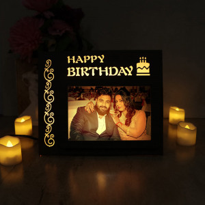 Personalized Birthday Wishes Lamp