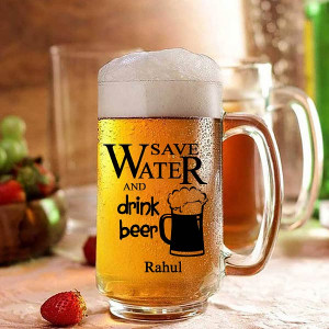 Personalized Beer Mug for Friends