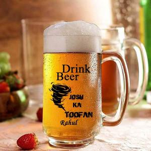 Josh Ka Toofan Personalized Beer Mug