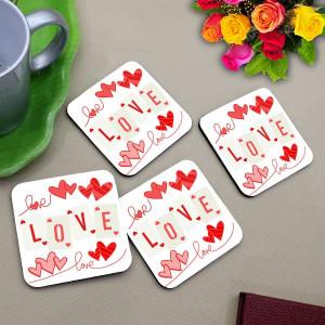 Designer Love Coaster Set