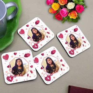 Personalized Photo Coaster Set