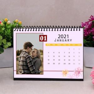 Personalized Floral Print Calendar