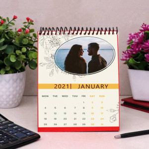 Its a New Year Personalized Calendar