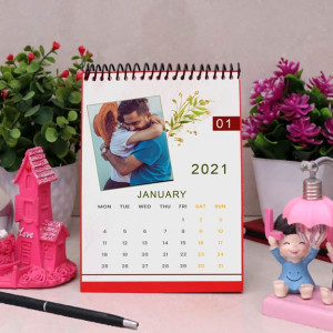Leaves Printed Personalized Calendar