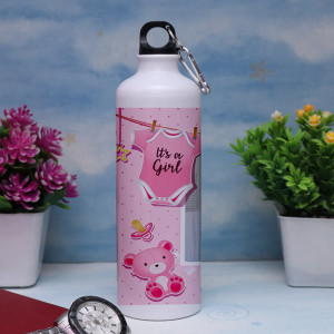 Its a Girl Personalized Sipper Bottle
